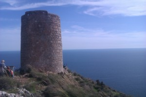"""High on a hill...""  Moorish Wath Tower on the Cost Tropical"