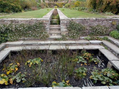 Rill and pond
