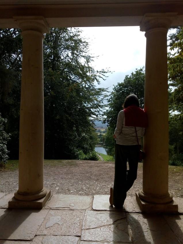 View across 18th Century Landscape Garden